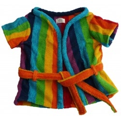 Rainbow Bathrobe