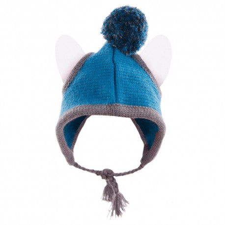 Bonnet Téo Jasmin Inuit bleu