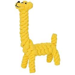 Jouet corde à mâcher girafe