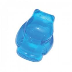 Jouet sonore et bondissant bleu