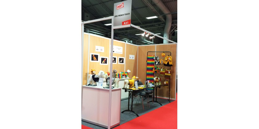 Stand dog french touch au salon made in france 2015 for A french touch salon