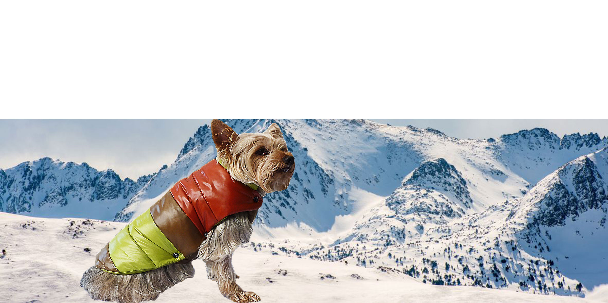 Dog-French-Touch-Puffer-Vest